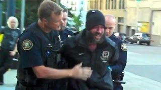 Portland Police Show Patience, Kindness, Restraint in Apprehension of  Homeless Man