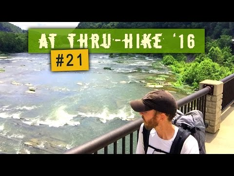 Appalachian Trail Thru-Hike 2016 #21 - Front Royal, VA to Harpers Ferry, WV