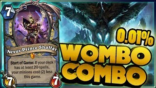 Hearthstone - WOMBO COMBO - 0,01% Rng WTF Moments