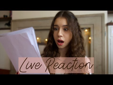 DID I GET ANOTHER SCHOLARSHIP FOR CAMBRIDGE? | LIVE REACTION
