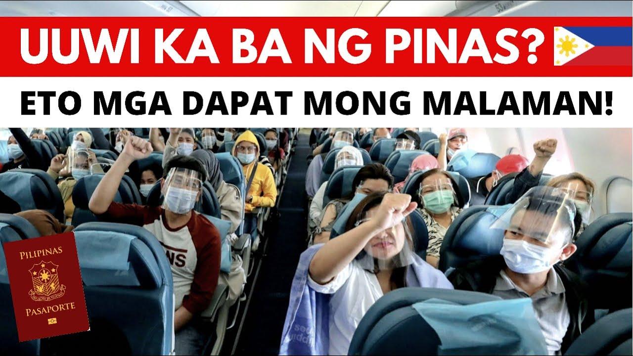 Download PARA SA LAHAT NG PILIPINONG GUSTONG UMUWI SA PILIPINAS: ITO ANG DAPAT NINYONG MALAMAN