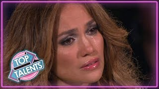 most emotional auditions everthat made judges cry top talents