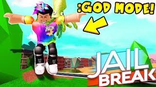 *NEW* GOD MODE GLITCH IN JAILBREAK PARTY UPDATE! (Roblox)