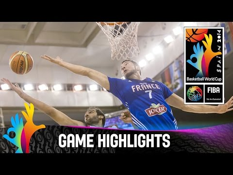 Iran v France - Game Highlights - Group A - 2014 FIBA Basketball World Cup