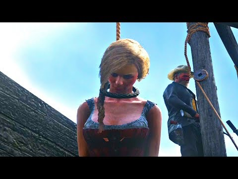 Red Dead Redemption 2 - Arresting Prostitute & Watching Her Hang