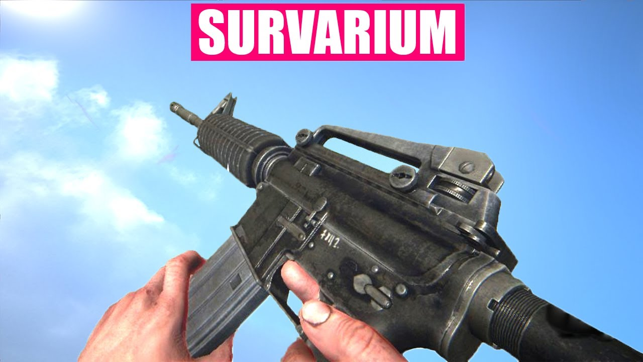 survarium gun sounds of all weapons youtube