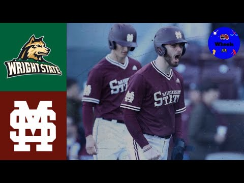 Wright State Vs #6 Mississippi State | 2020 College Baseball Highlights