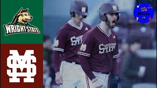 Wright State vs #6 Mississippi State   2020 College Baseball Highlights