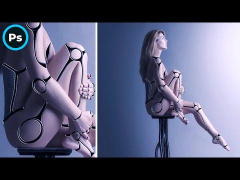 Cyborg | Photoshop manipulation