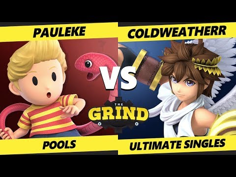 Smash Ultimate Tournament - Pauleke (Lucas) Vs. ColdWeatherr (Pit) The Grind 90 SSBU Pools - WR3
