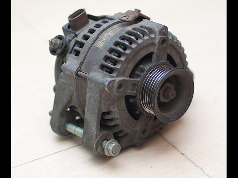 генератор снятие toyota rav4