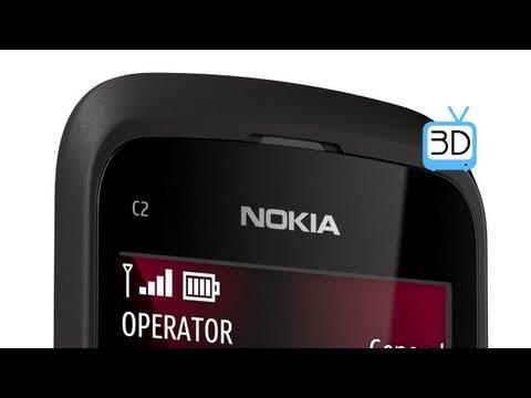 Nokia C2-02 (3D video)