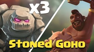 TH9 Hog Strategy | Stoned Goho Attack | Clash Of Clans