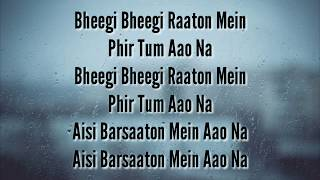 Bheegi Bheegi Raaton Mein by Sanam Mp3 Song Download