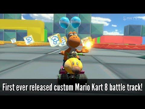 Download GCN Block City (First ever released Custom MK8 Battle Track!) - Mario Kart 8 Mods [Wii U] Snapshots
