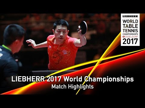 2017 World Championships | Highlights Ma Long vs Xu Xin (1/2)