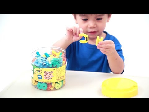 Grow'n Up: Crayola® 128pcs Magnetic Letters, Numbers & Signs