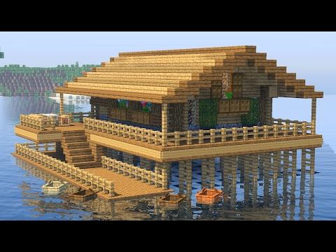 Видео майнкрафт как построить дом под водой