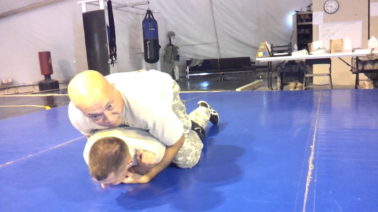 Drill 2- Arm Push and roll, rear mount, and escape  by Kevin Wright