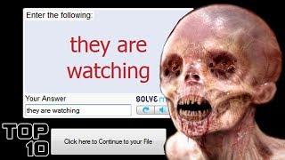 Top 10 Scary reCAPTCHA Phrases