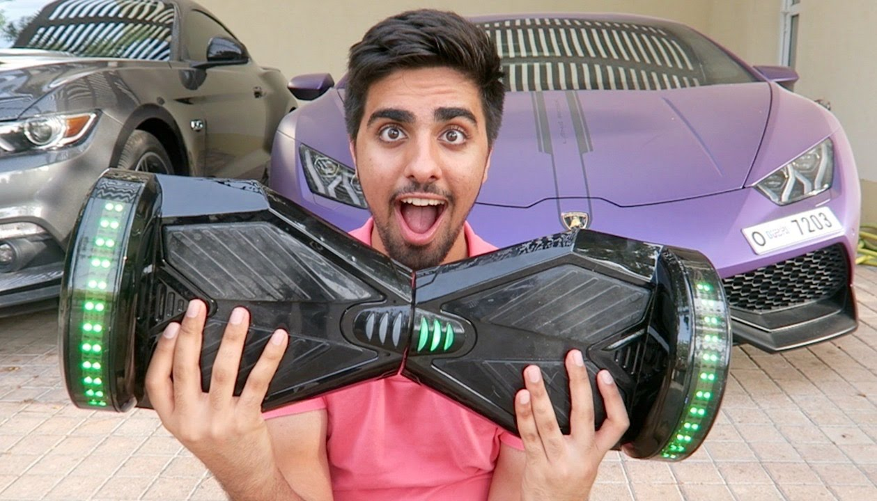 lamborghini made a hoverboard ?!? - youtube