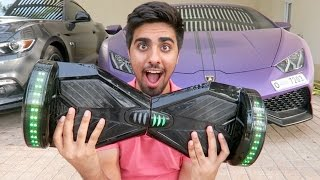 LAMBORGHINI MADE A HOVERBOARD ?!?