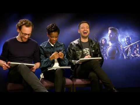 Avengers: Infinity War cast plays 'Friends For Infinity'