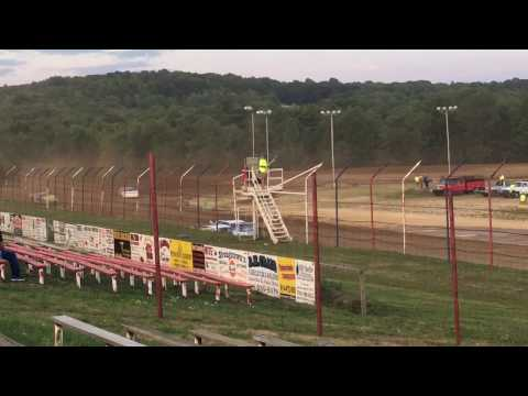 Super Late Model Heat race 8-5-16 Dog Hollow Speedway
