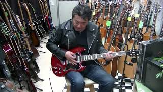 Gibson SG standard 16年製 ギターフロンティア 動画ショッピング