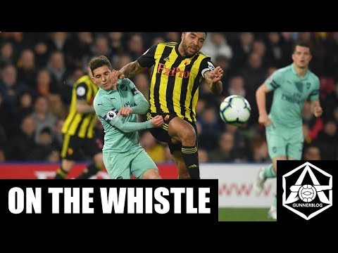 On the Whistle: Watford 0-1 Arsenal - 'Troy Deeney's cojones have gone all red'