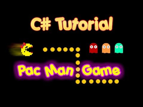 C# Tutorial - Create a simple pac man game in visual studio