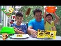 Big vs Mini Ice Cream Challenge !! Ada Es Krim Spongebob Patrick + MILO