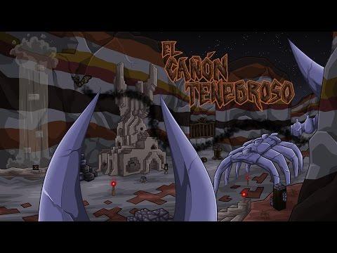 EL CAÑON TENEBROSO   MAPA DE MINECRAFT POR ELRICHMC   JUGANDOLO EN DIRECTO