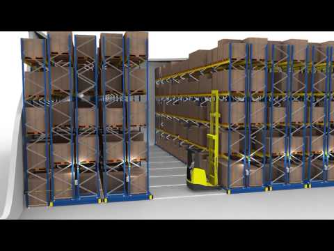 Mobile Racking by Jungheinrich