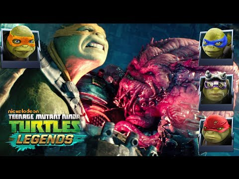 Turtles Vs Movie Krang Tmnt Legends Youtube