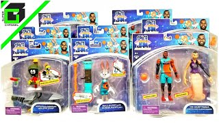 SPACE JAM A New Legacy (Complete Set) action figures by Moose Toys LEBRON, BUGS BUNNY, LOLA, TAZ