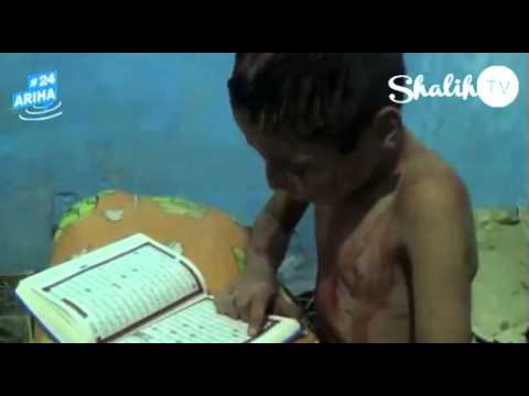 """Anak korban Syria terus membaca Al-Quran meski dalam keadaan terluka"""