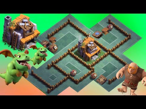 Best BH4 Base Layout Anti Dragon Anti Giant Anti Archer + REPLAY Clash Of Clans New Update