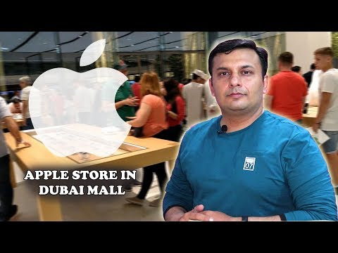 Apple Store In Dubai Mall | Emirates Mall | Iphone Prices In Dubai Mall