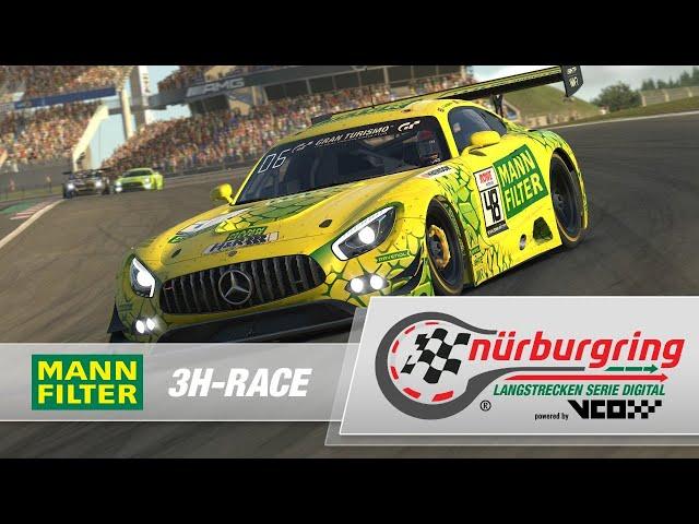 MANN-FILTER 3h-Rennen – Rennen 9 zur Digitalen Nürburgring Langstrecken-Serie powered by VCO