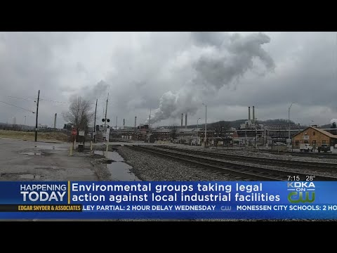 Environmental Groups Taking Legal Action Against Local Industrial Facilities