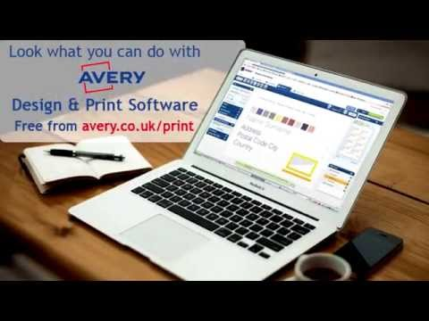 Decorate your home with Avery and Design & Print Software
