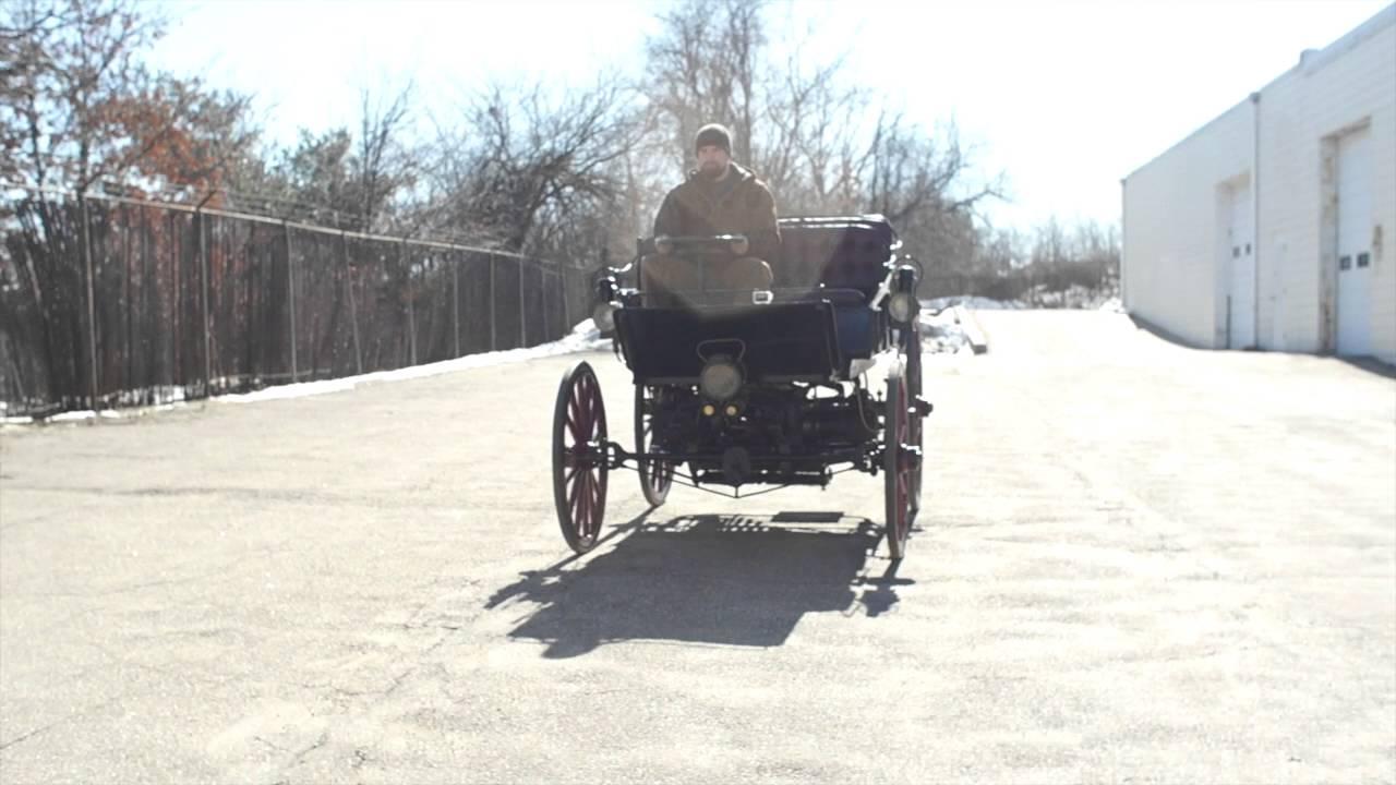 1896 Armstrong Hybrid Gasoline Electric Car