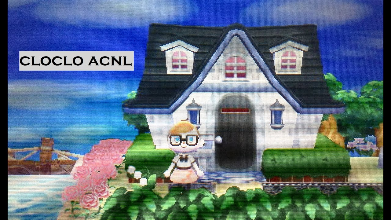 Exterieur Welcome (acnl Presentation) Animal Crossing New Leaf Présentation