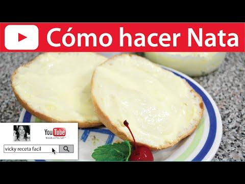 Hacer Nata Para Cocinar | Como Hacer Nata 3 Opciones Vicky Receta Facil Youtube