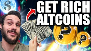 Top (2) Get Rich Altcoins? I'm Buying...RIGHT NOW!!!