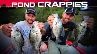 How to Catch More and Bigger Crappie in Ponds