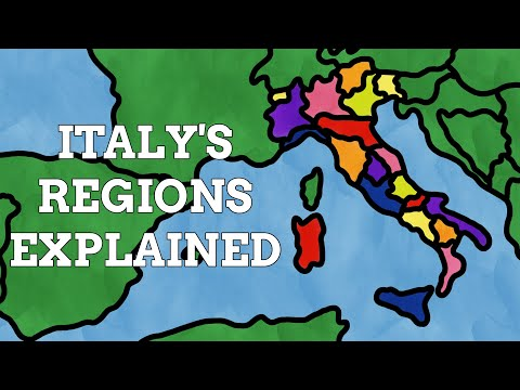 How Did The Regions Of Italy Get Their Names?