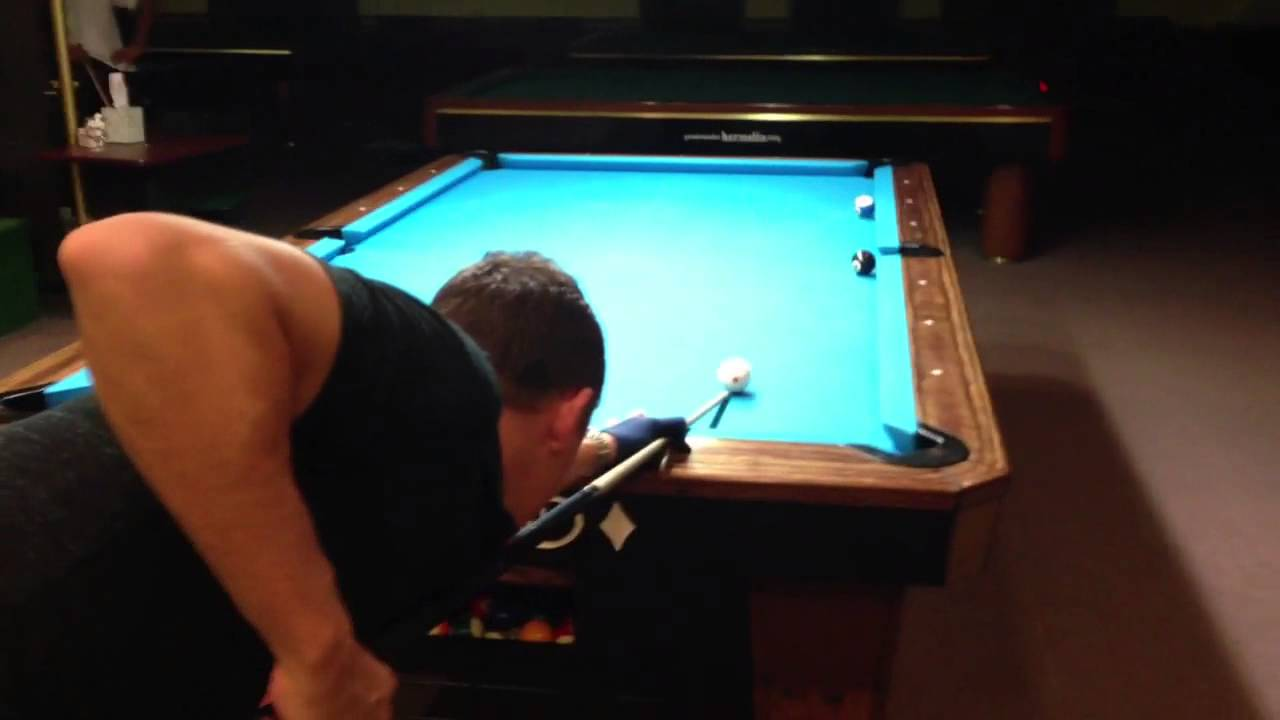 Shane Van Boening Makes Amazing Draw Shot For Great Cue