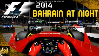 F1 2014 | Bahrain at Night - Ferrari Gameplay (Cockpit View)